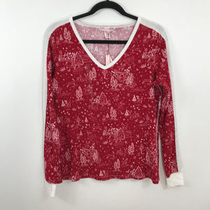 Victoria's Secret Intimates & Sleepwear - New Victoria's Secret Christmas Tree Thermal Top